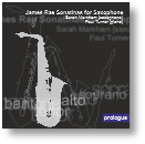 PLG 006 - James Rae Sonatinas for Saxophone